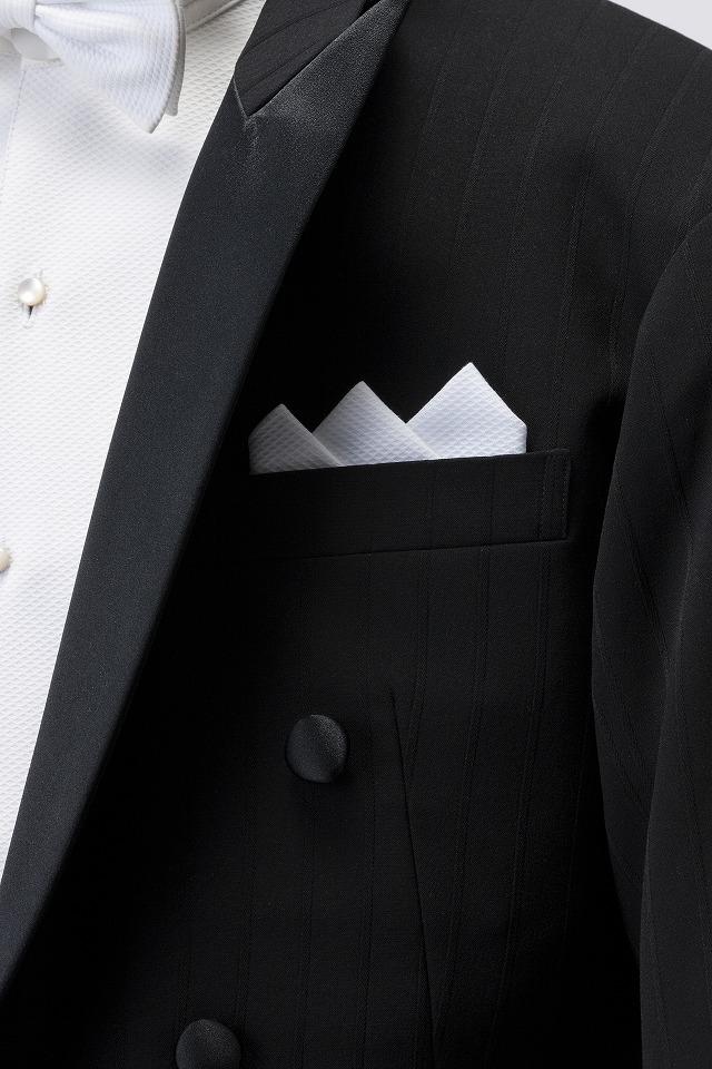 ポケットチーフ使用例